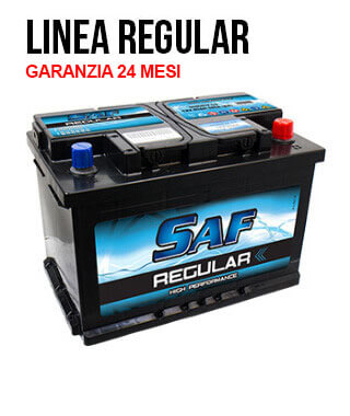 Batterie auto linea regular 80Ah - 600En