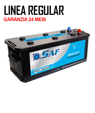 Batteria da camion regular 180Ah - 1150En